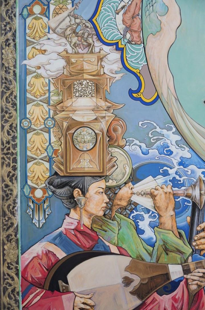 【台南】三座傳統老市場的青創力… p.s. 普濟殿廟宇藝術也進化了!
