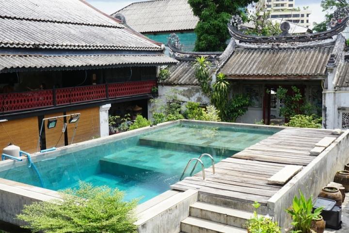 【曼谷中國城景點】老打鐵社區裡有著潛水池的恒泰古厝So Heng Tai