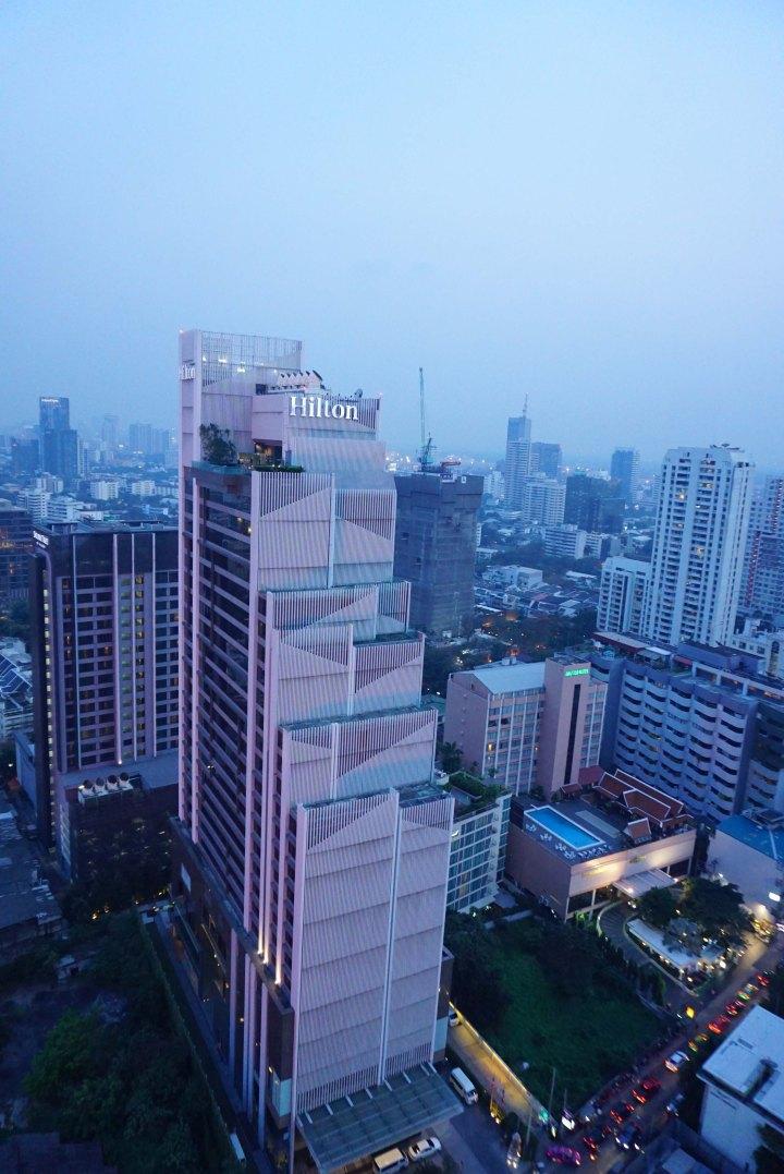 【曼谷旅館推薦】交通便利的Doubletree by Hilton逸林酒店